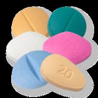 Наборы таблеток